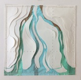"""Delta, mixed and layered papers, thread 13"""" x 13"""""""